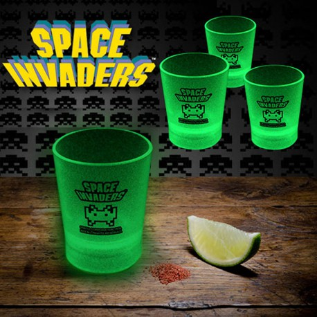 Shooters Phosphorescents Space Invaders