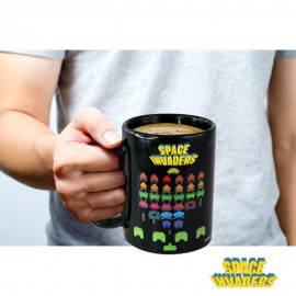 Mug Thermoréactif Space Invaders