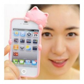 Coque iPhone 4/4S Kiki Cat