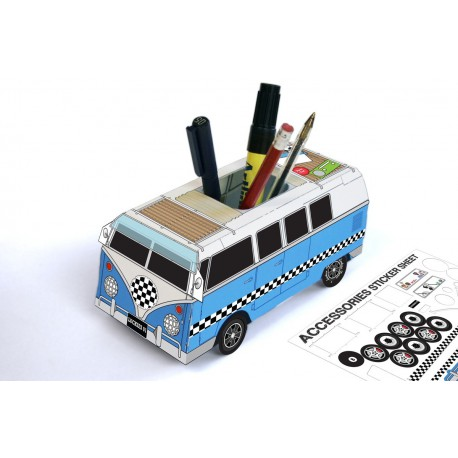 Camping Car pencil cup do it yourself