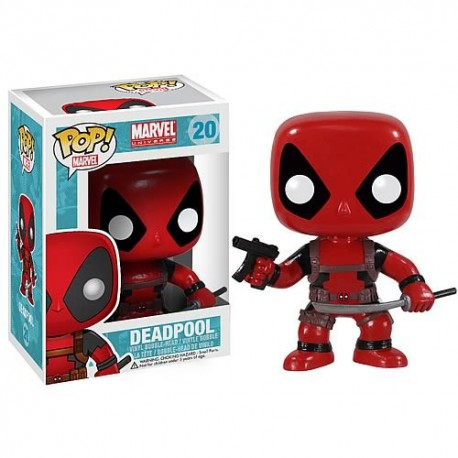 Bobble Head POP Marvel - Deadpool