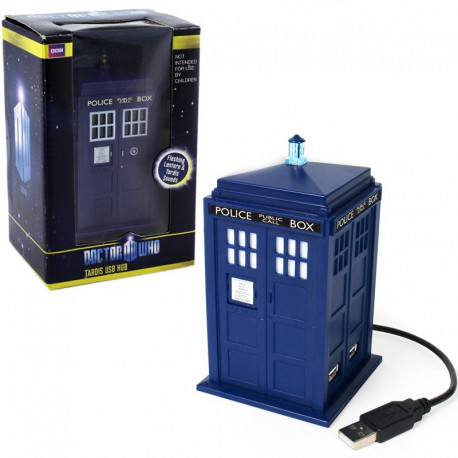 Hub USB Tardis Doctor Who