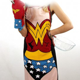 Set barbecue/cuisine Wonder Woman
