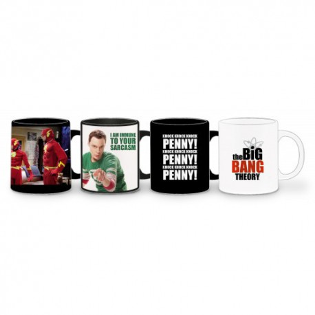 Set Tasses Expresso The Big Bang Theory