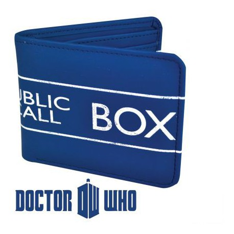 Portefeuille Tardis Doctor Who