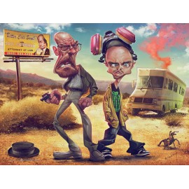Breaking Bad Poster 60x80 cm