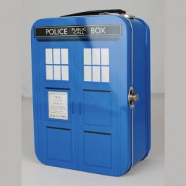 Mallette Tardis Doctor Who Métallique