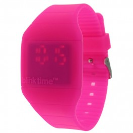 Montre Lumineuse - Blink Time - Rose