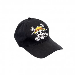 "Casquette One Piece Black ""Skull"""