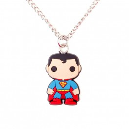 Collier pop super héros Superman Funko