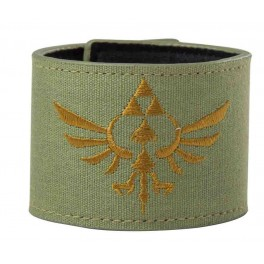 The legend of Zelda bracelet cuir et tissu