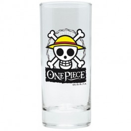 Verre One Piece skull Luffy