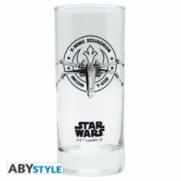 verre star wars x-wing