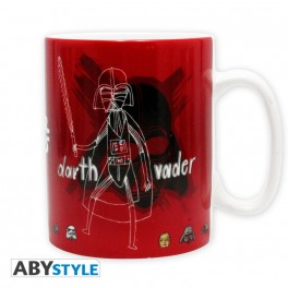 Mug croquis Dark Vador Star Wars