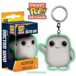Porte clé pop adipose docteur who phosphorescent