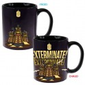 Mug thermoréactif Docteur Who Dalek Exterminate