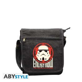 "Sac besace "" Enlist now trooper "" petit format"