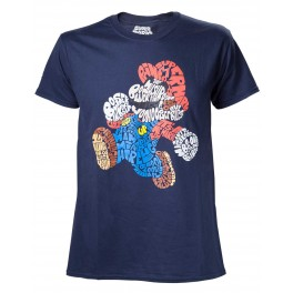 T-Shirt Mario Word Play
