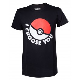 T-Shirt Pokémon I choose you