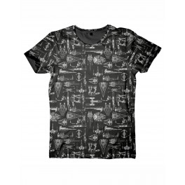 T-shirt Vaisseaux Star wars