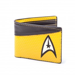 Portefeuille Star Trek logo commadant