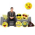 Coussin emoticone
