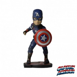 Figurine captain américa bobble head Marvel