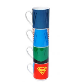 Tasses empilables Justice League