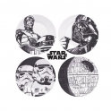Assiettes Star Wars Lot de 4