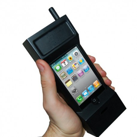 Iphone 4 case 'GSM from 80s '